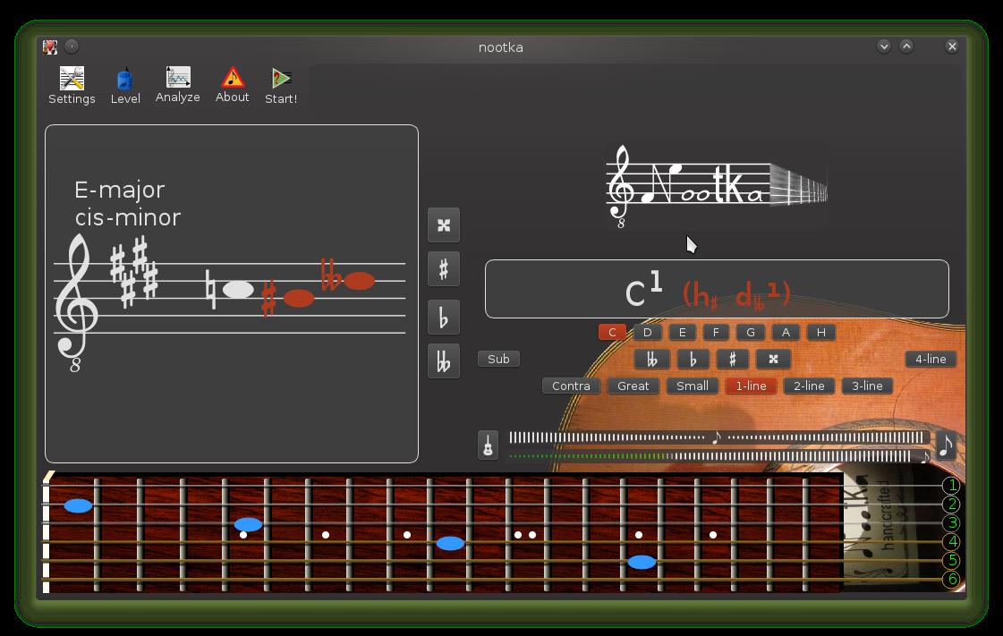 Nootka: Teoría musical para la guitarra